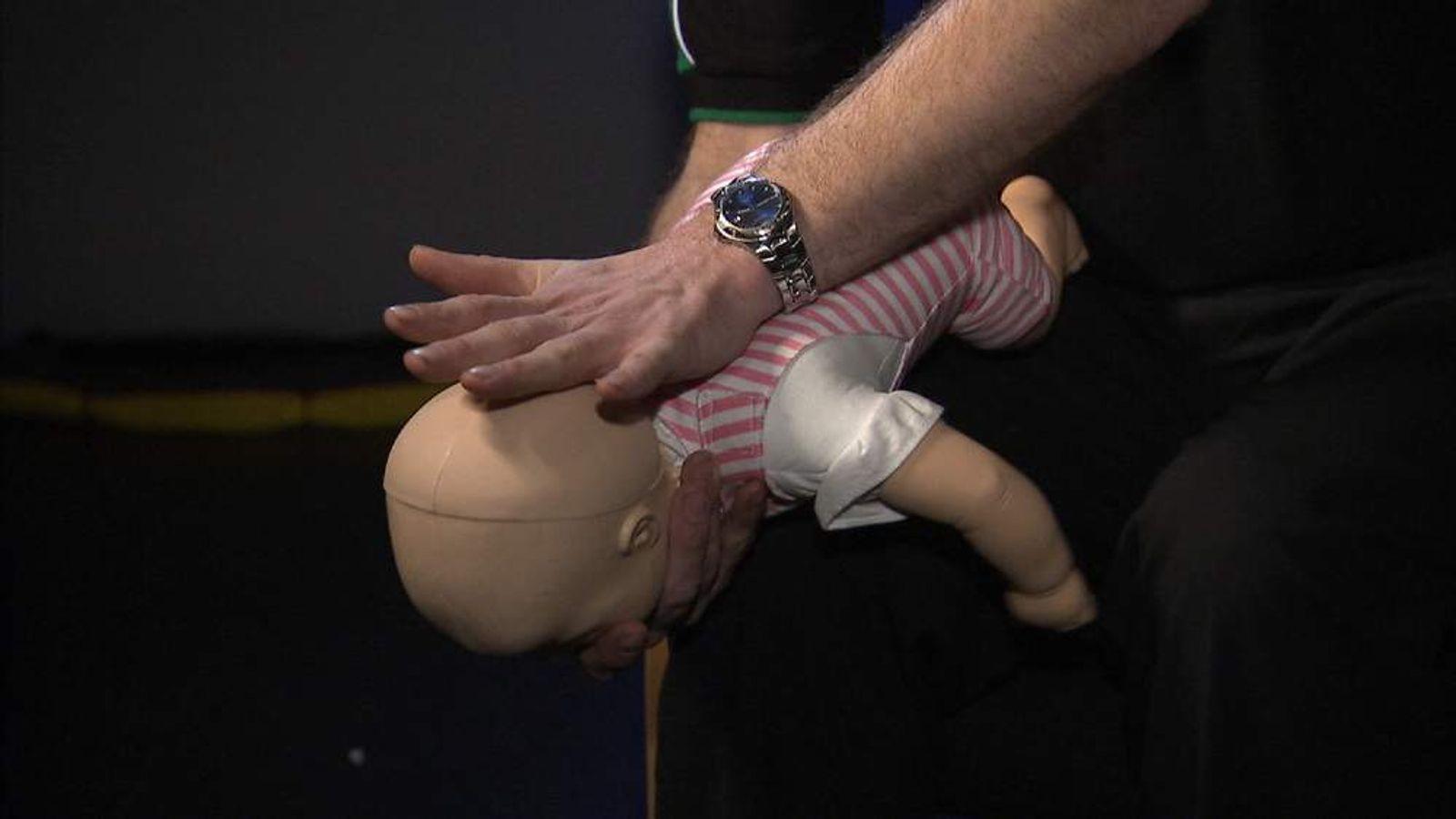 New Advice On Helping Choking Babies