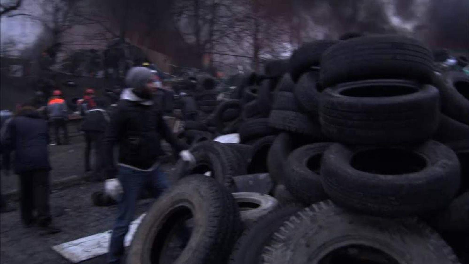 Behind The Barricades