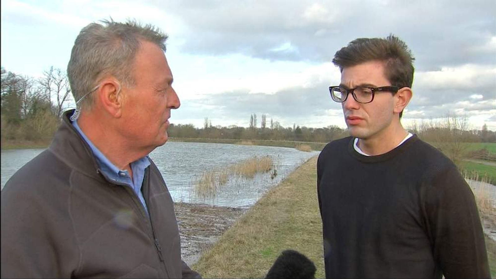 Sky's Jeremy Thompson flies across southern England to assess the lasting damage of this winter's flooding.