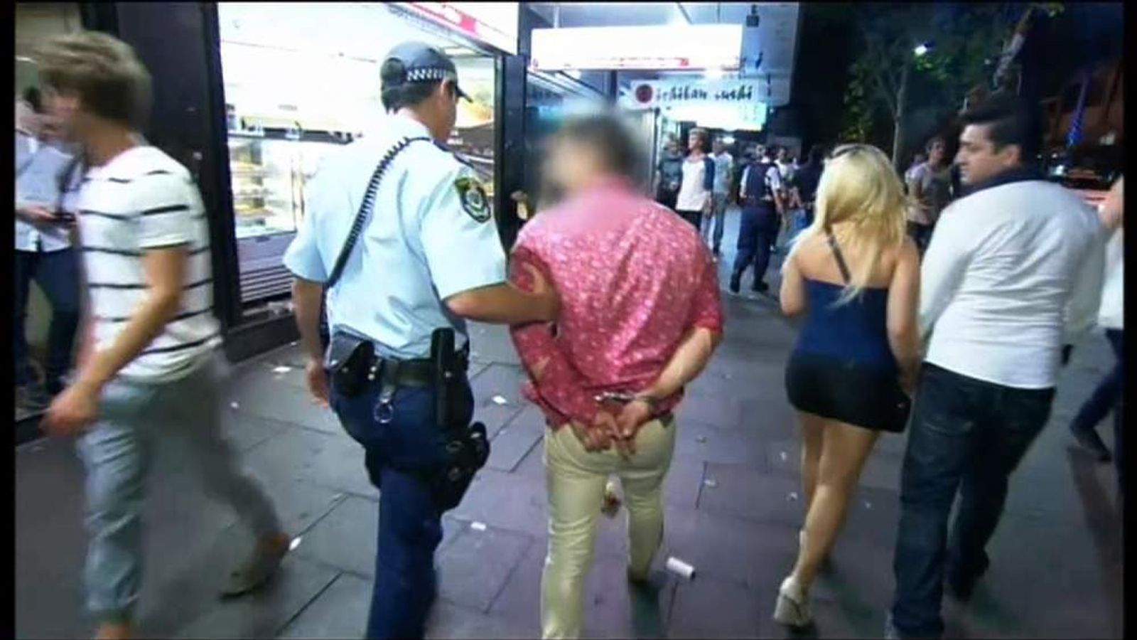 Alcohol violence in Australia
