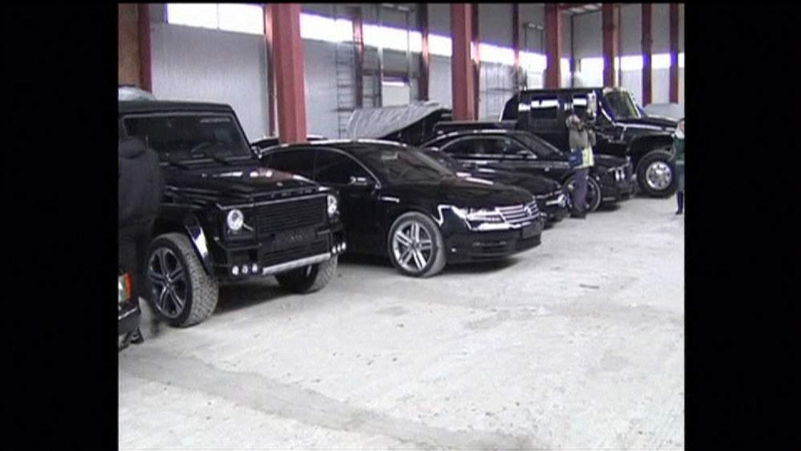 President Viktor Yanukoyvch car collection