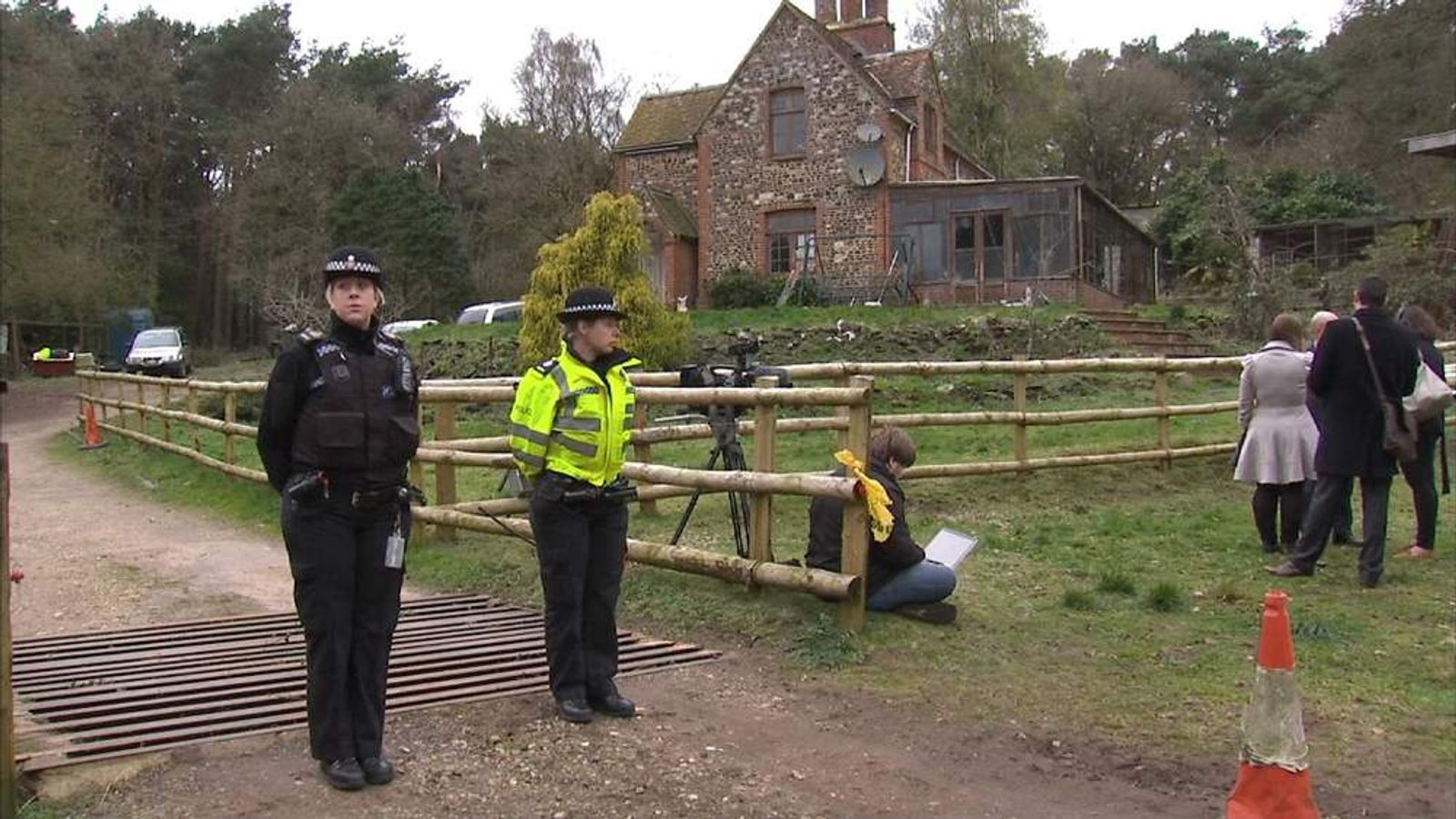 Two women shot dead at a property near Farnham