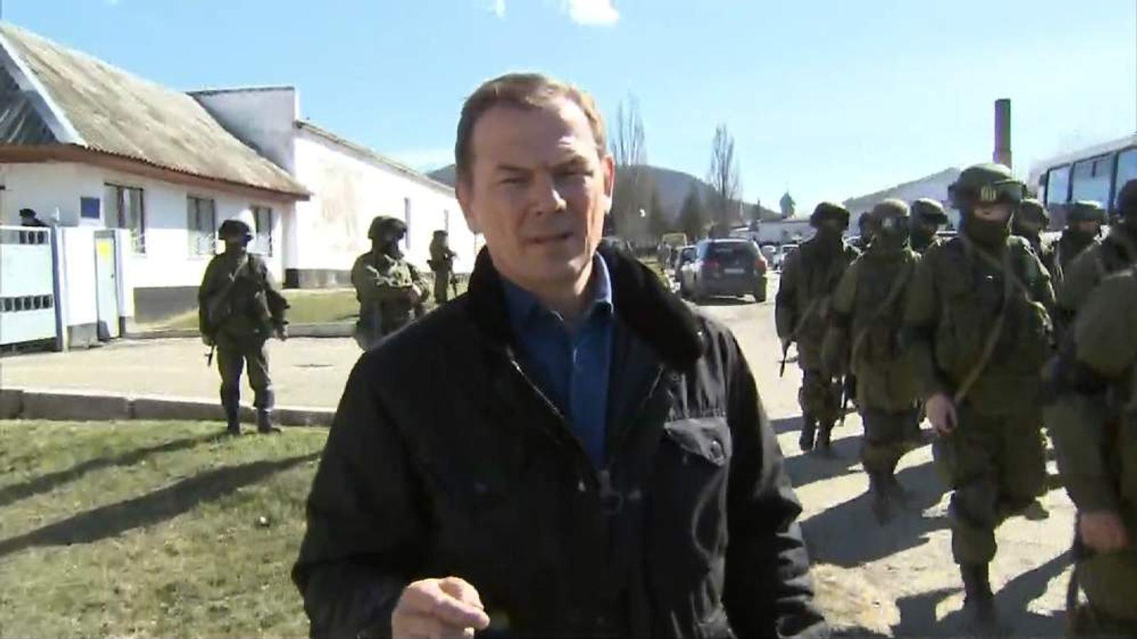 Andrew Wilson in the Crimea