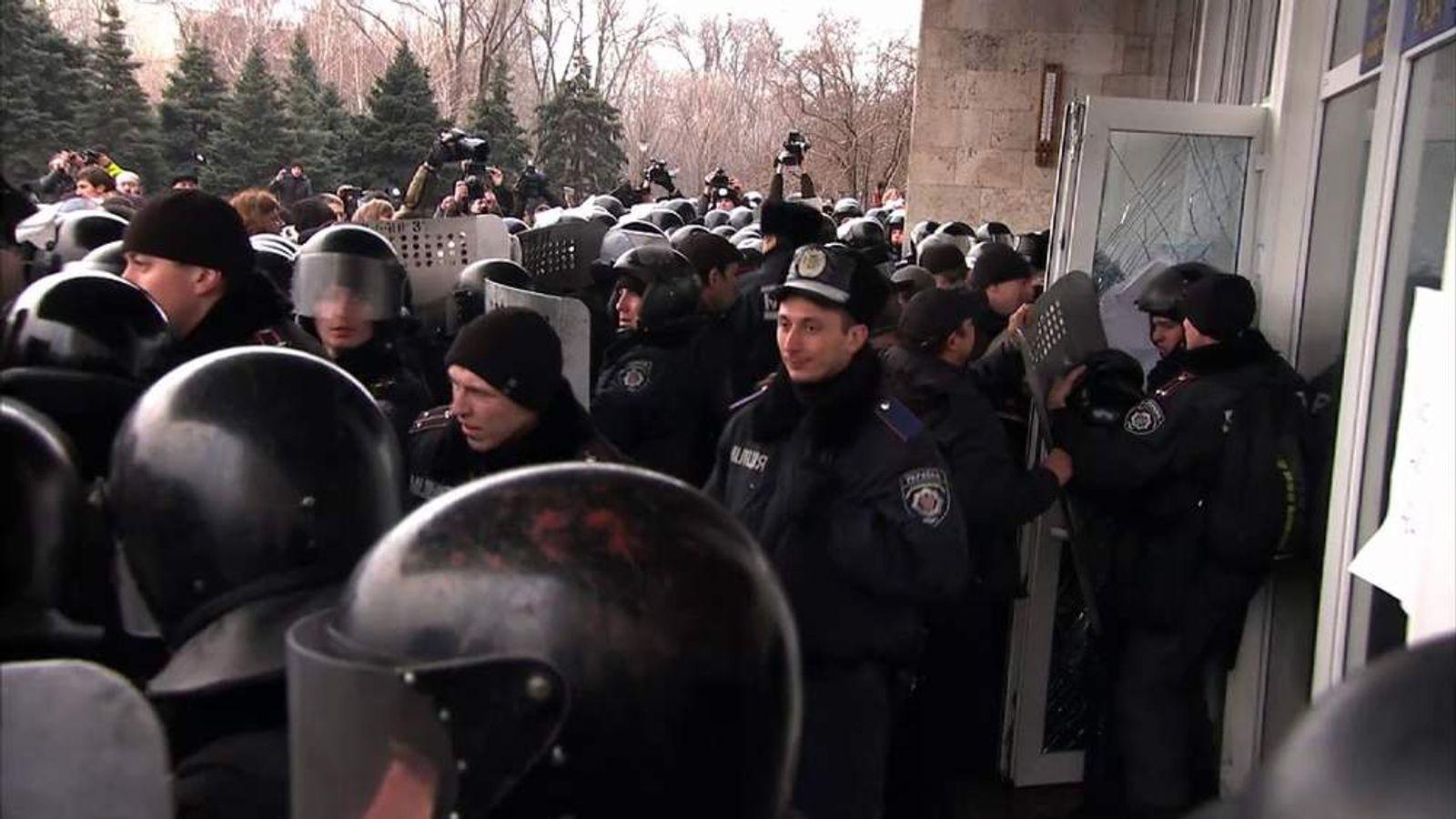 Clashes in Ukraine