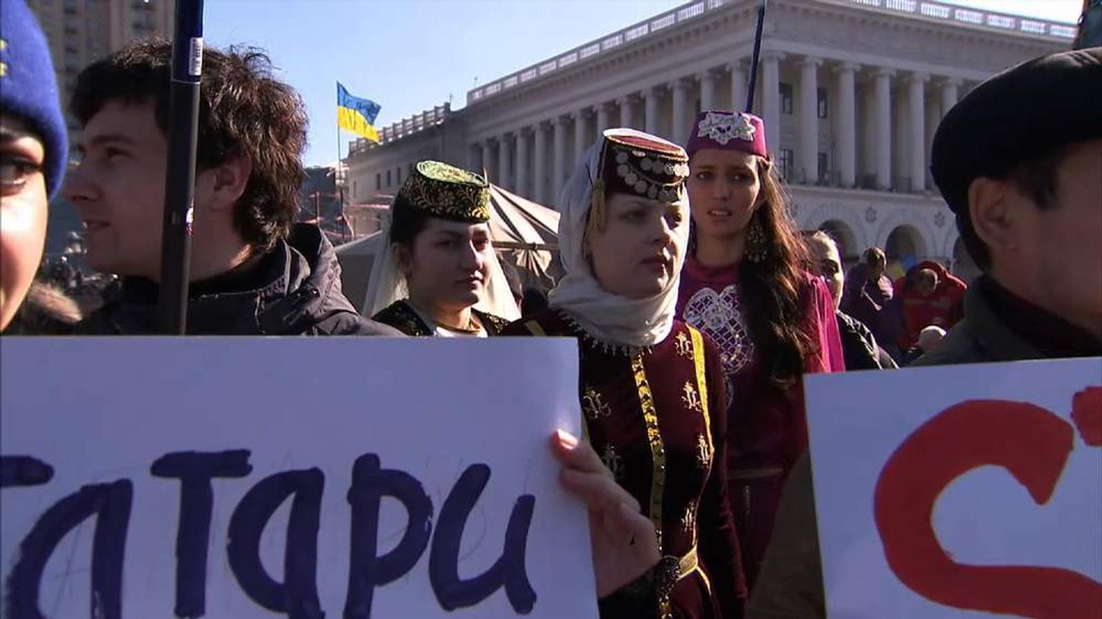 Minorities fear crimean takeover