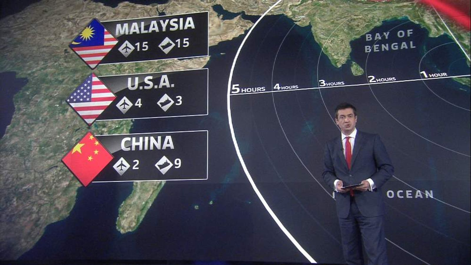 Sky's Niall Paterson looks at what the Malaysian authorities know so far.