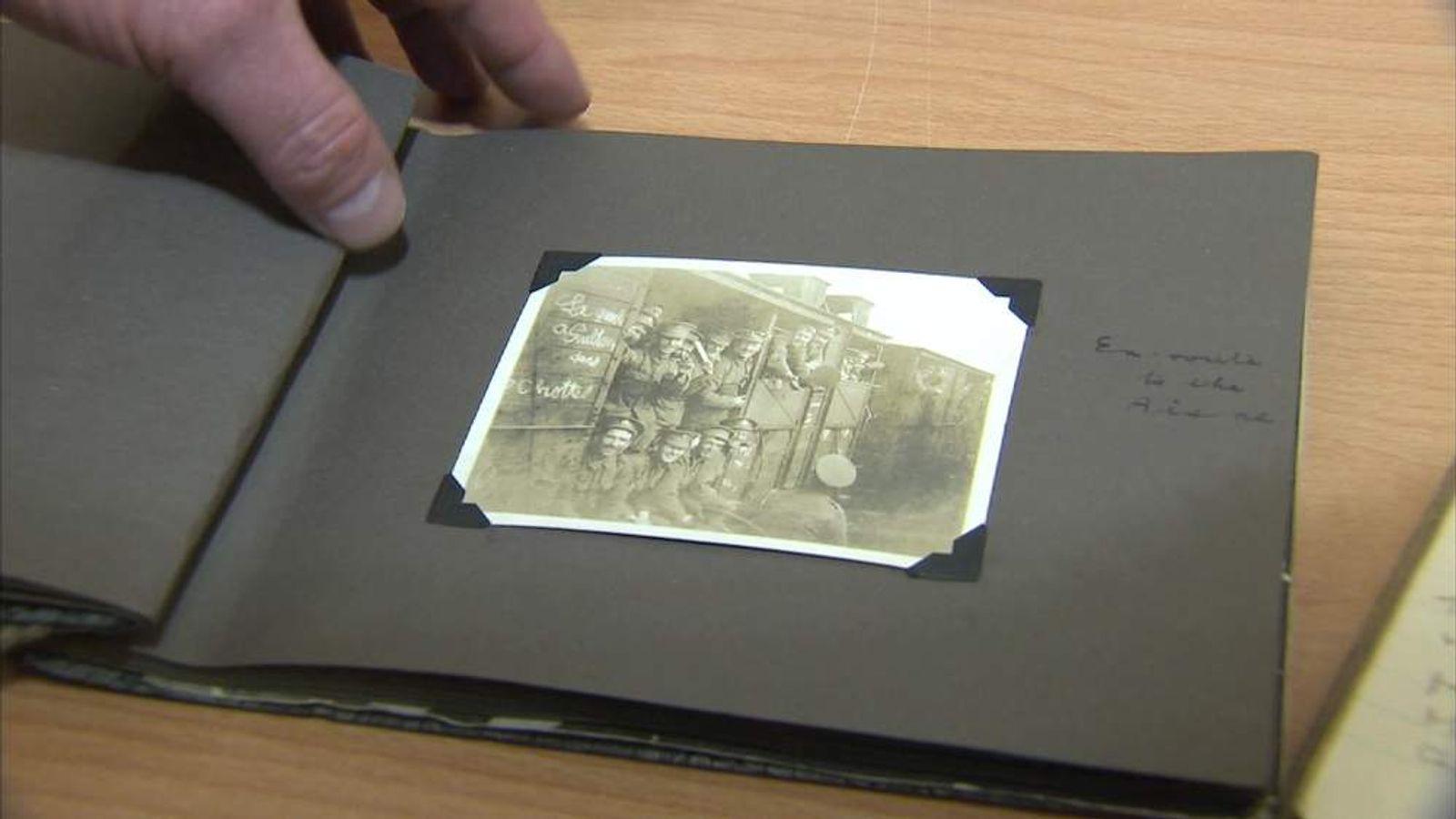 A photograph from World War One