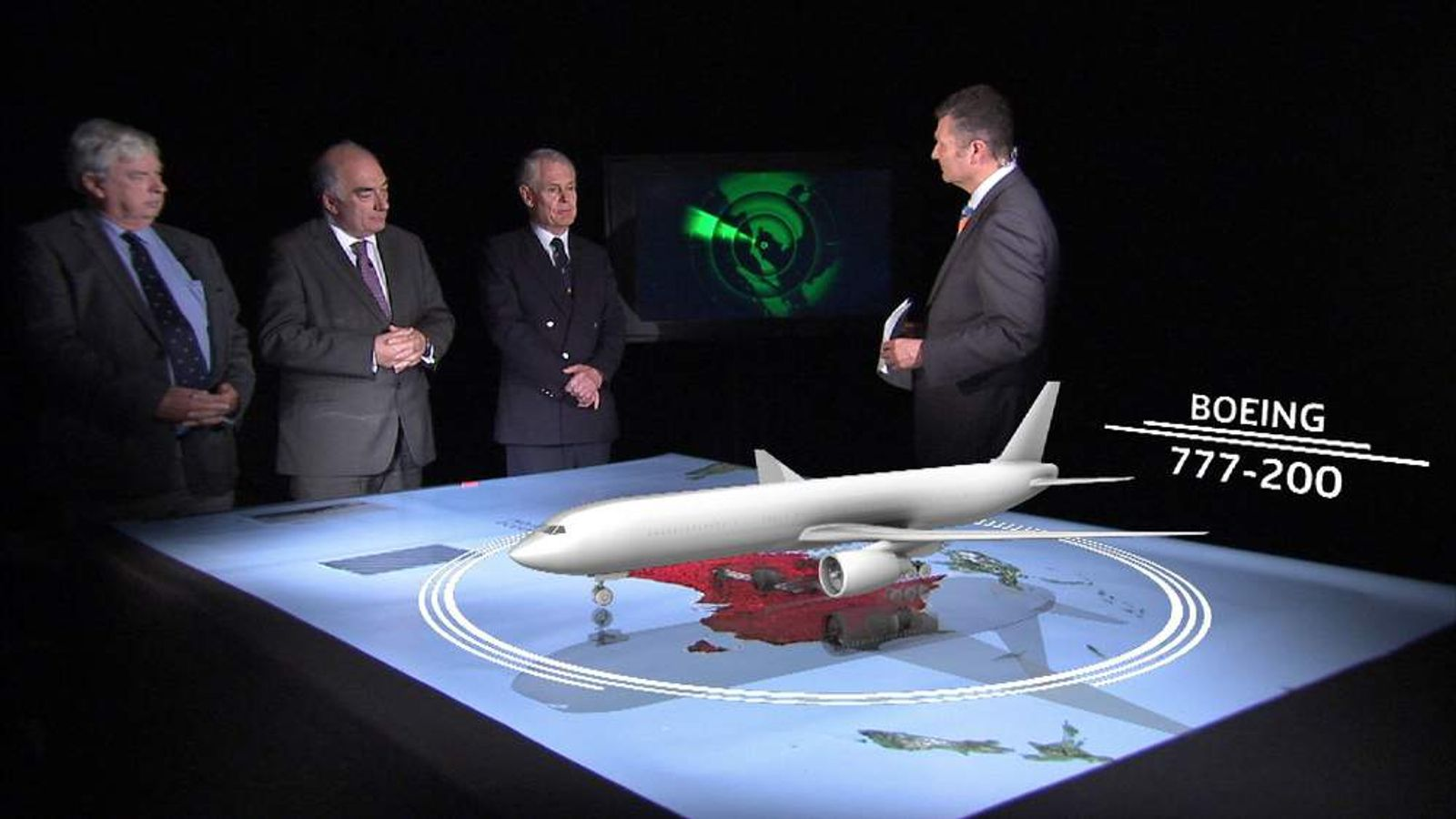 Sky's David Bowden analyses the latest information on Flight MH370