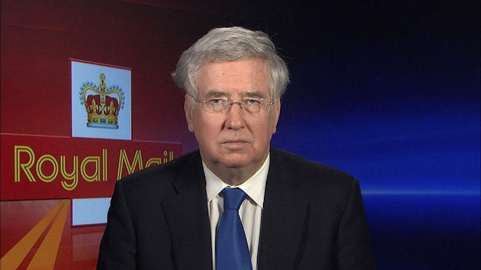 Business Minister Michael Fallon MP