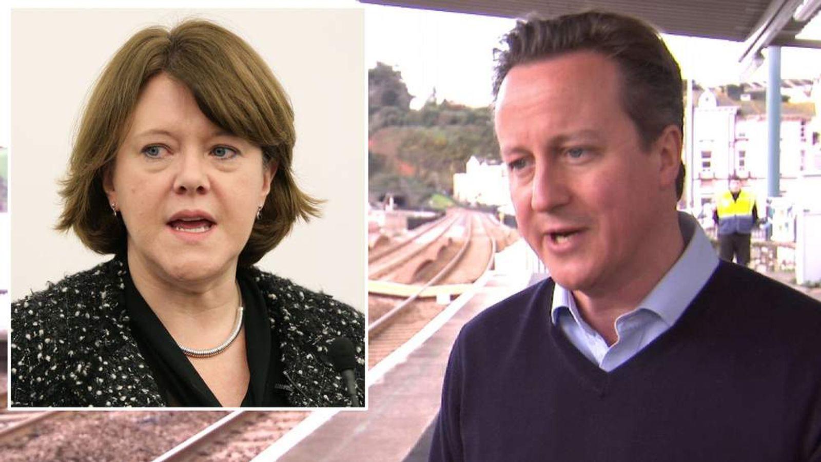 Maria Miller and David Cameron