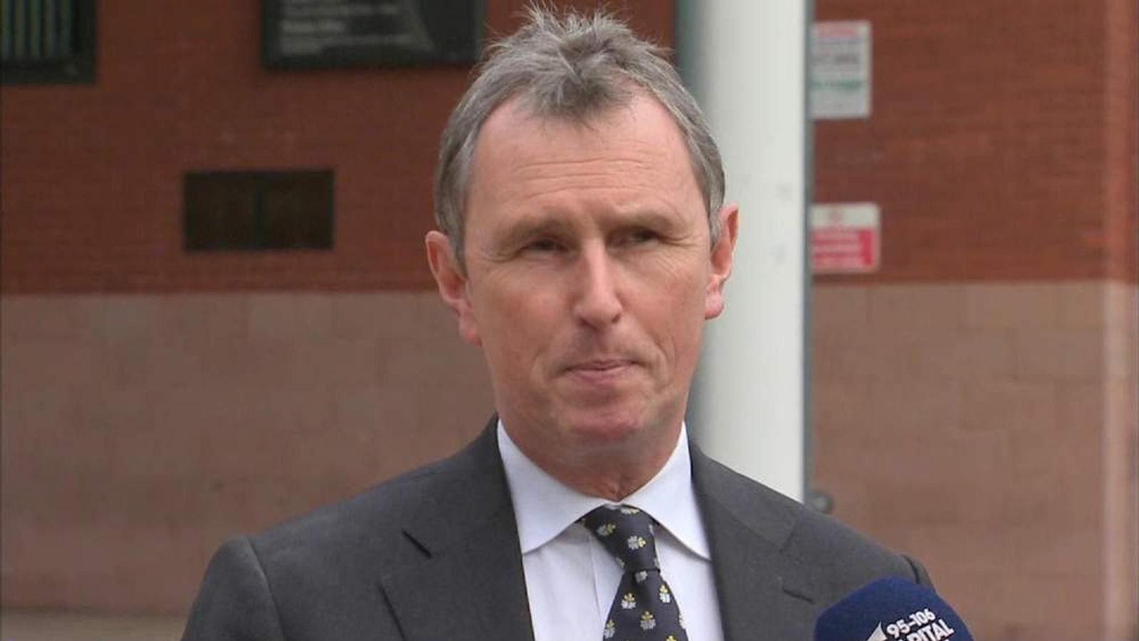 Nigel Evans on being cleared