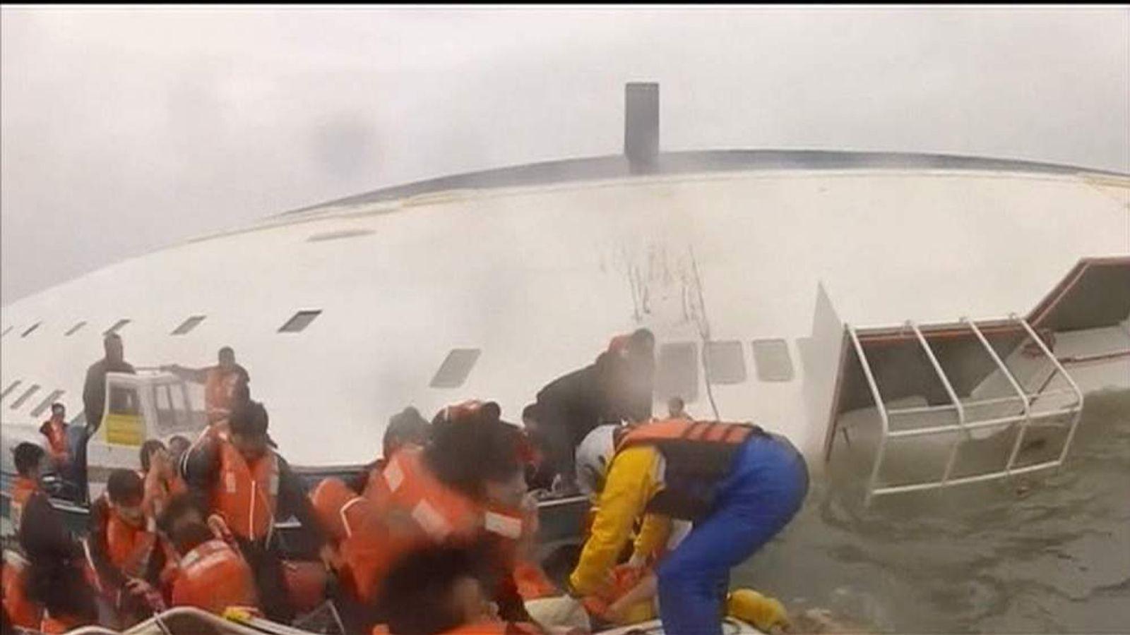 Korea ferry rescue