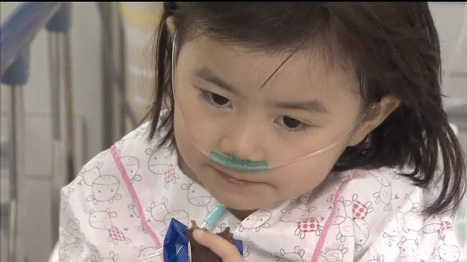 A six-year-old girl is among the survivors of the South Korean ferry disaster - but her parents are still missing.