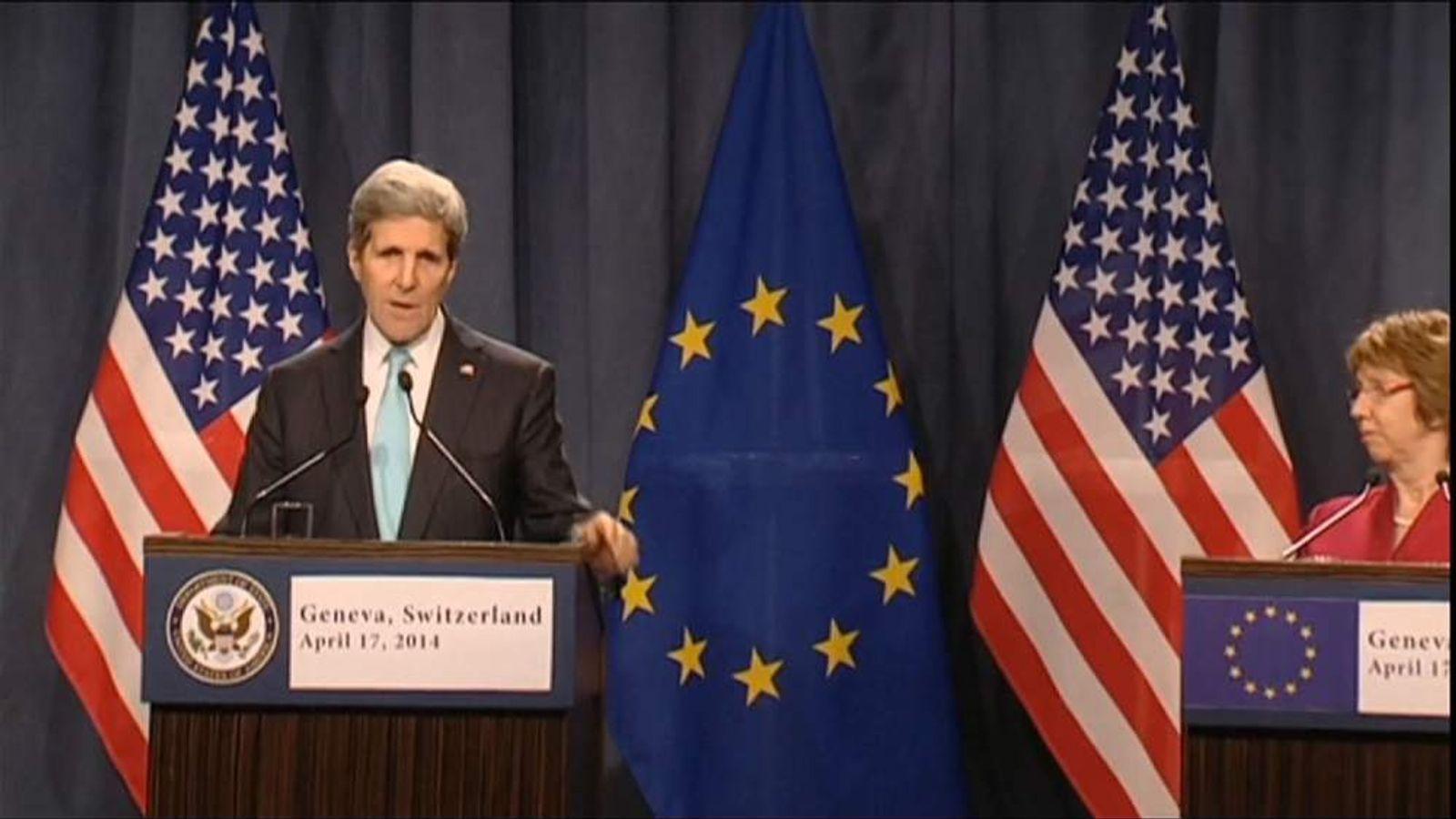 Ukraine Kerry
