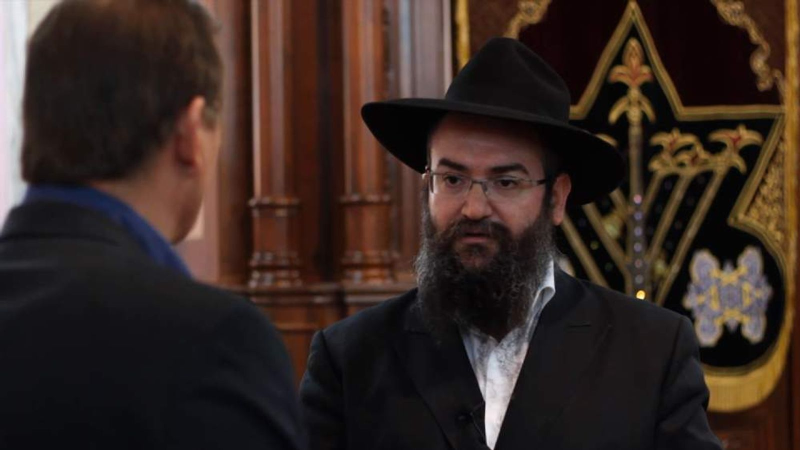 Rabbi Pinkhas Vishedski, Chief Rabbi Of Donetsk, Ukraine
