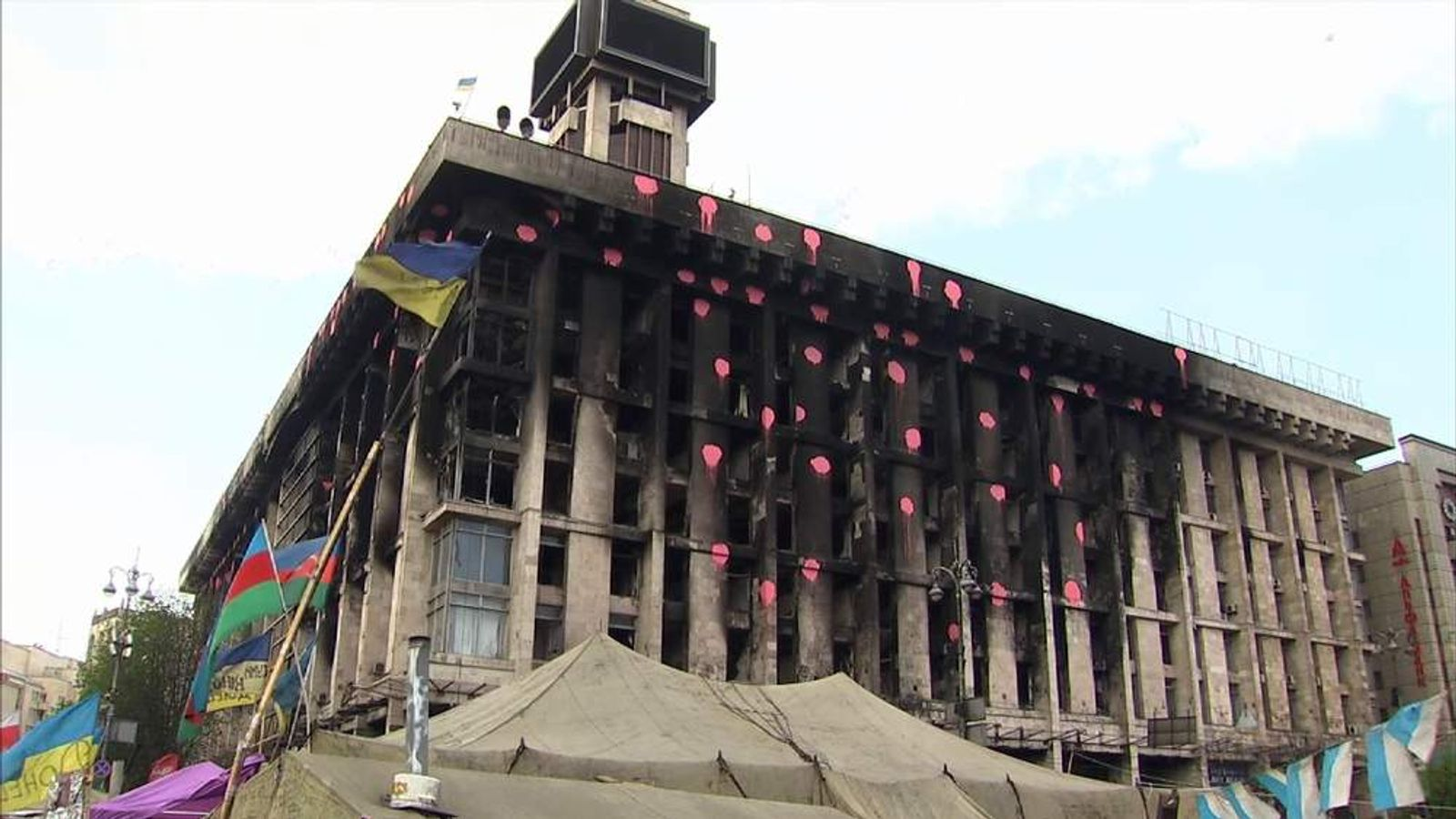 Kiev's Maidan Square has been the scene of three months of protests.