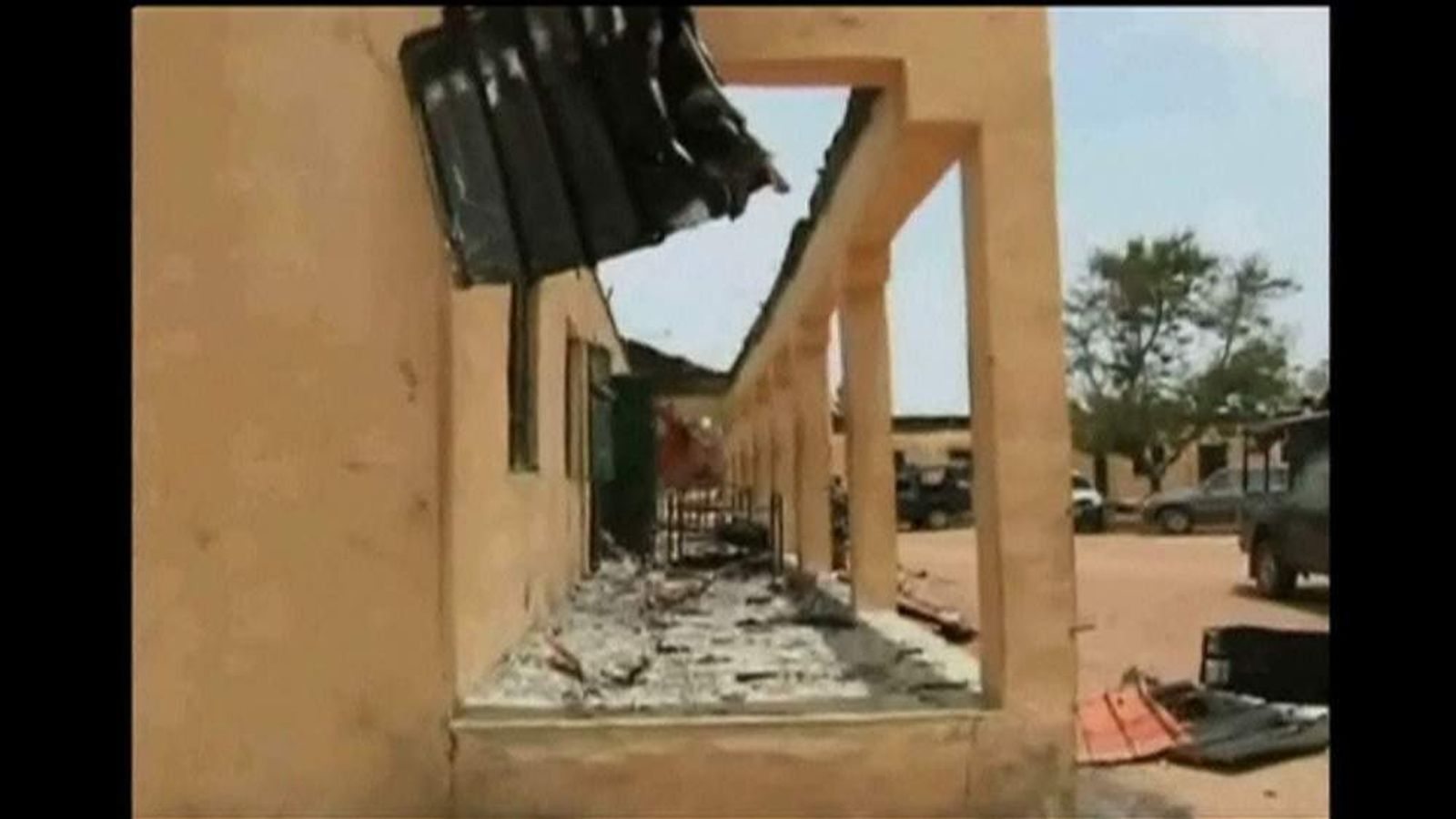 Boko Haram seize more than 230 girls from a Nigerian boarding school