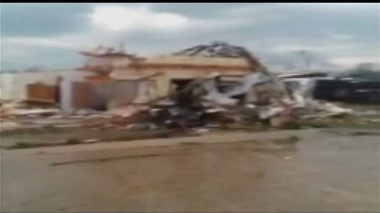 Storm damage in Arkansas