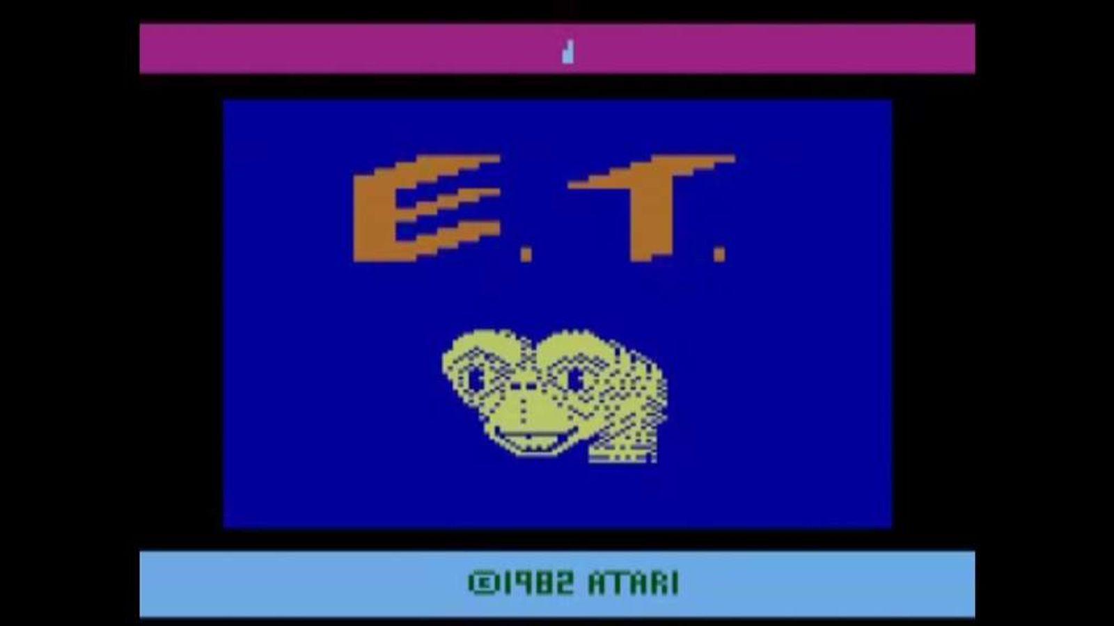 1982 Atari ET game