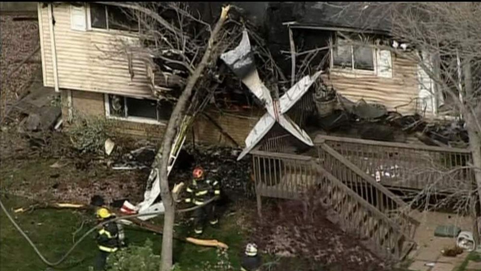 Plane Crashes Into Denver House