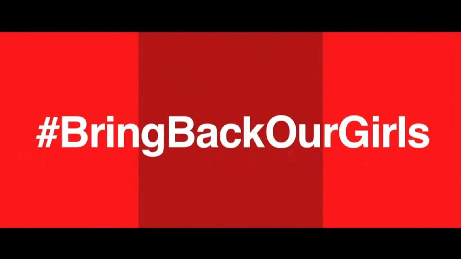 Bring back our girls graphic