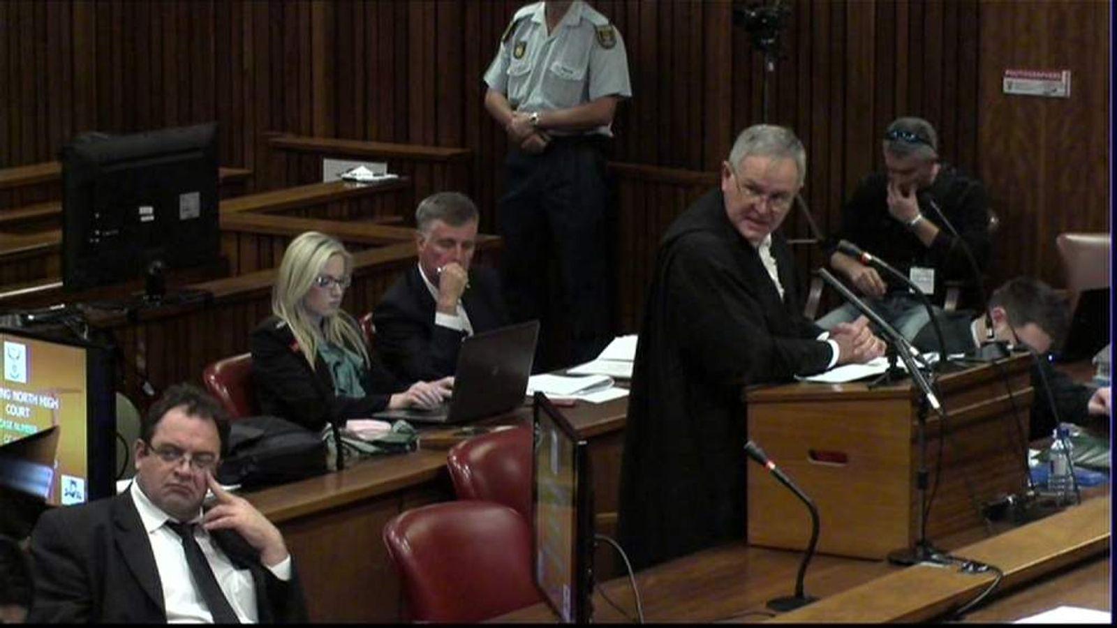 Pistorius court