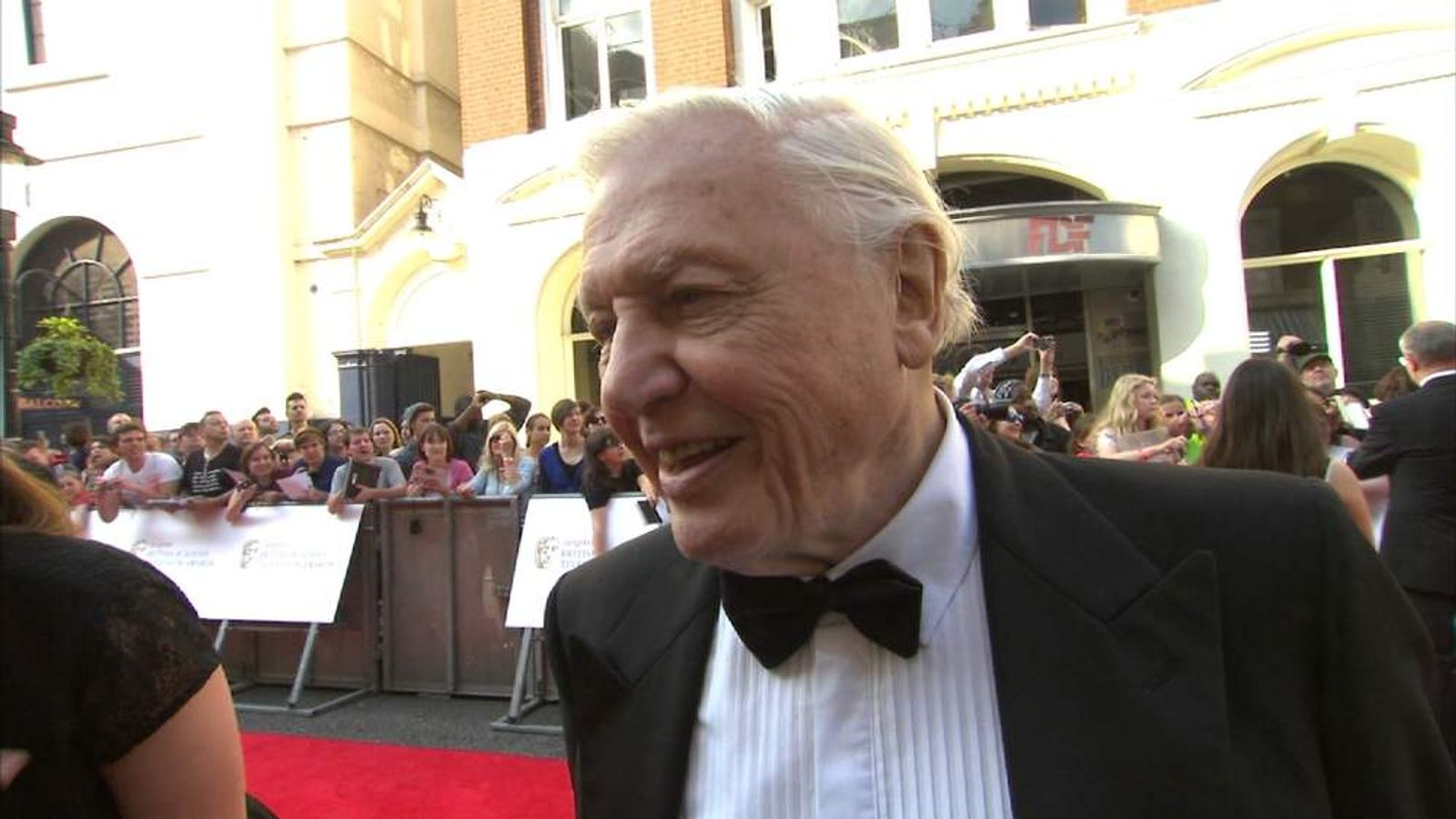 David Attenborough BAFTA