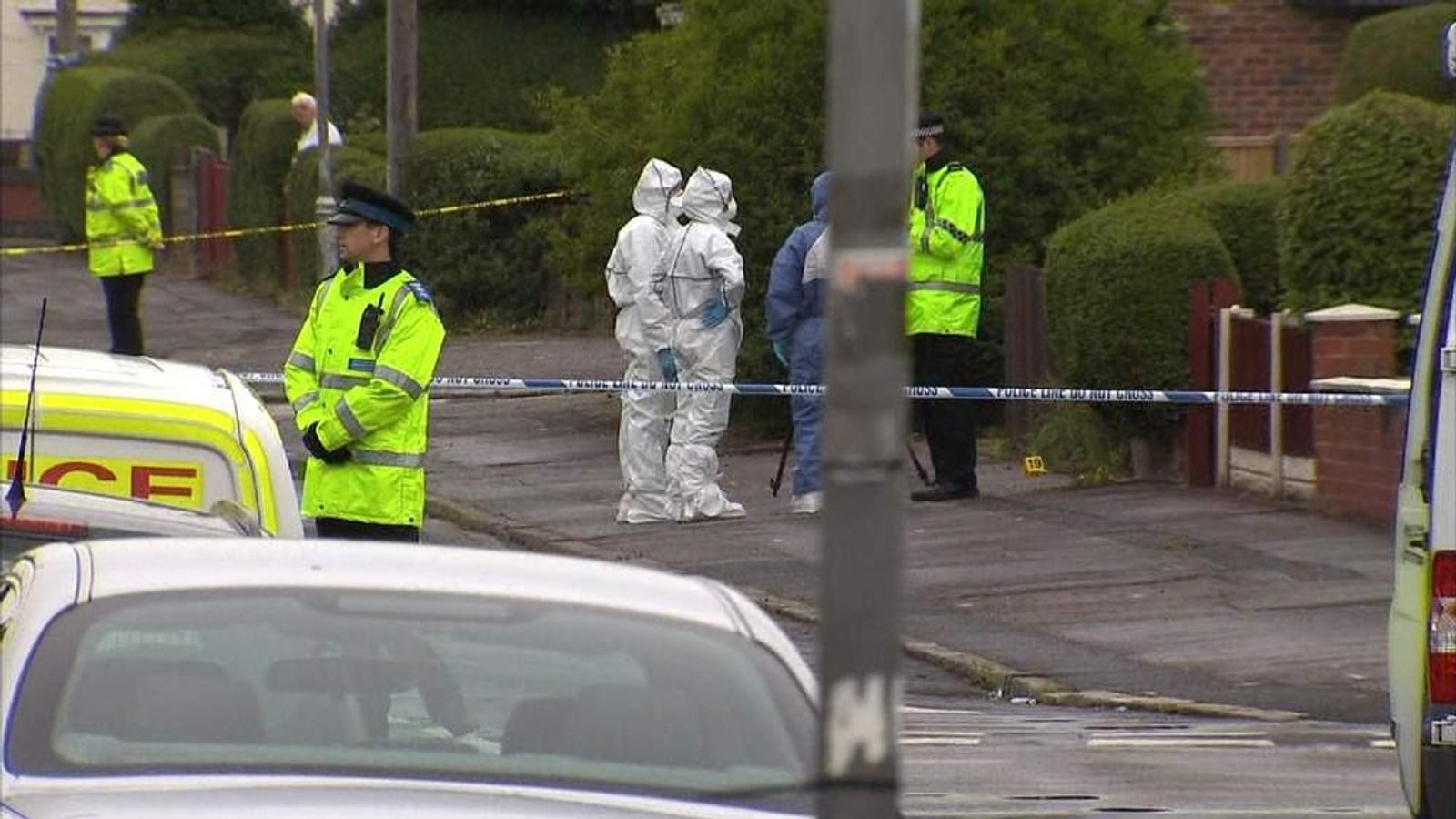 Liverpool, Merseyside shooting scene