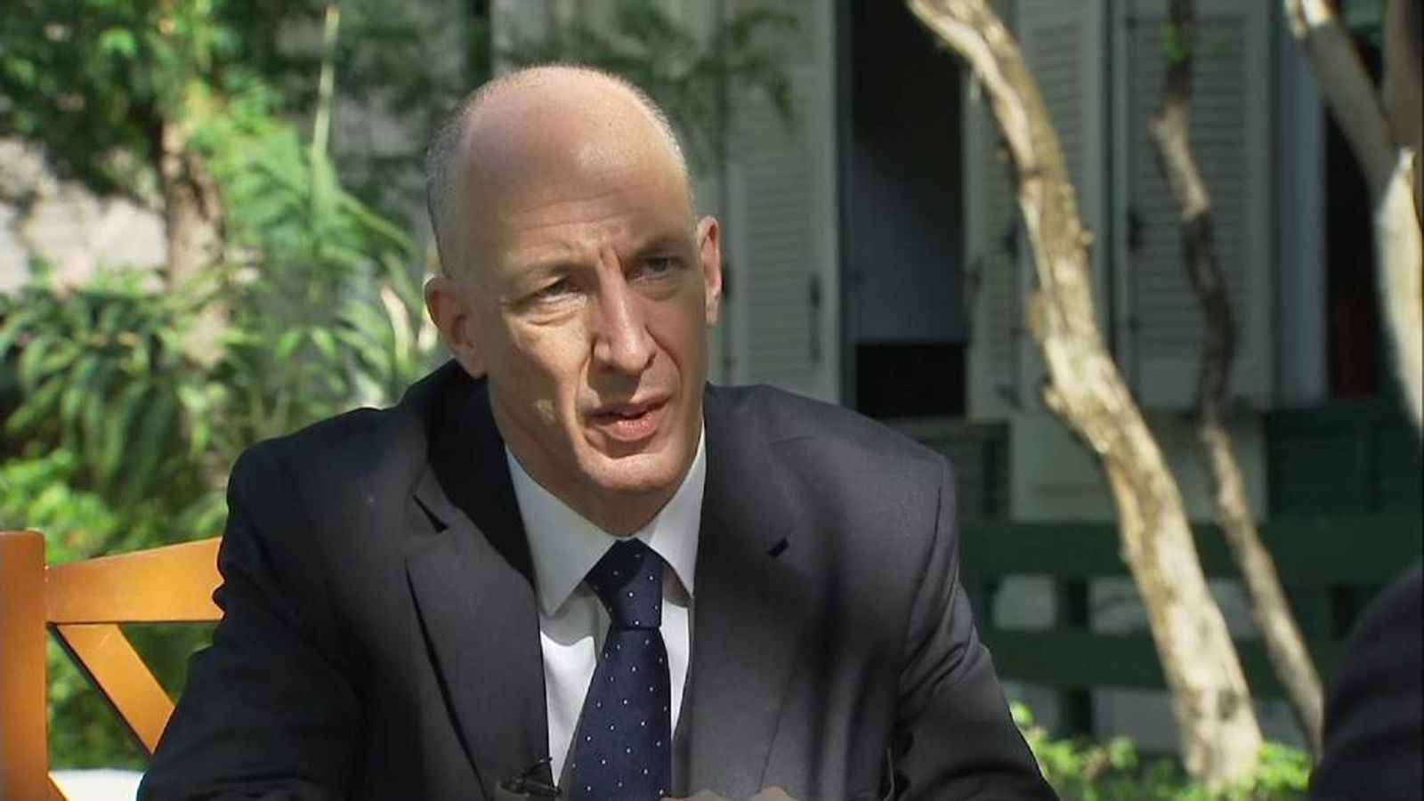 Mark Kent, UK ambassador To Thailand