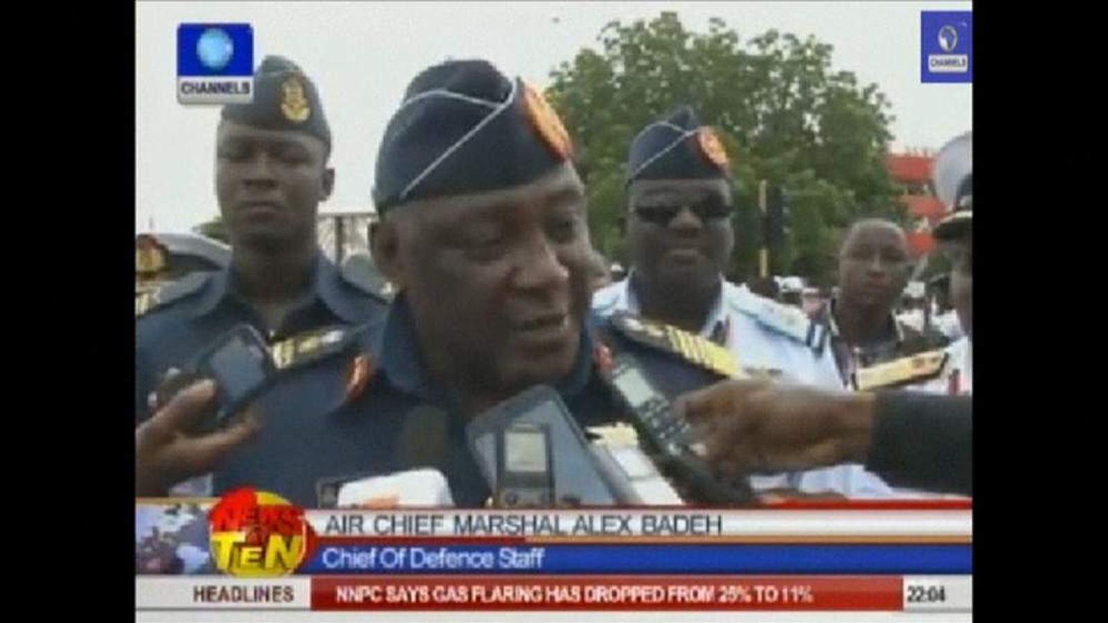 Nigerian Air Chief Marshal Alex Badeh