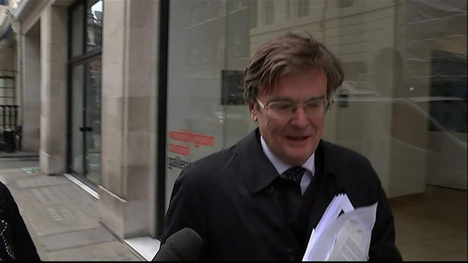 290514 CLEGG Oakeshott doorstep screengrab