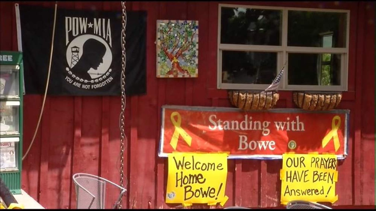 Bowe Bergdahl's home town of Hailey Idaho