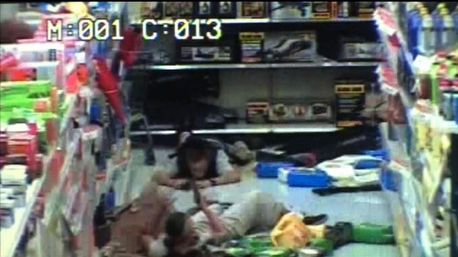 Las Vegas shooting couple Jerad and Amanda Miller in Walmart