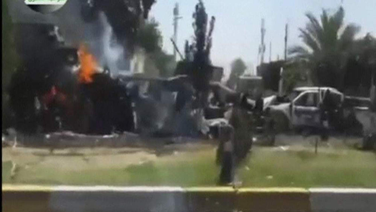 Iraq insurgent violence