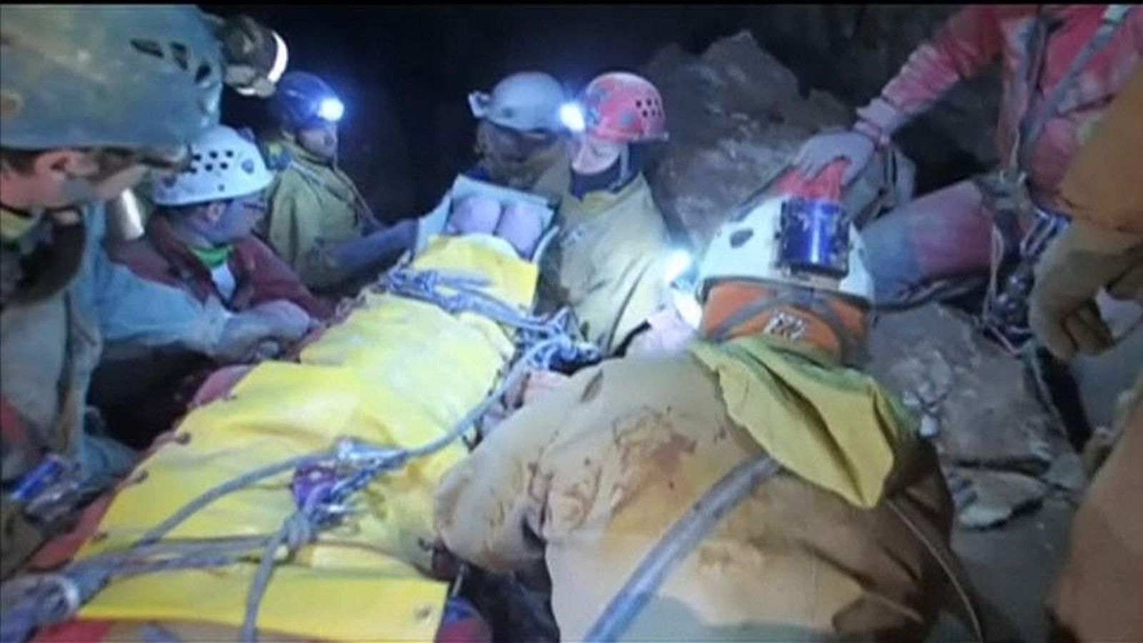 Rescue operation in Germany's deepest cave