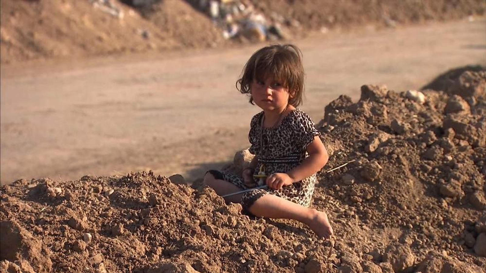 People Fleeing Iraq Crisis