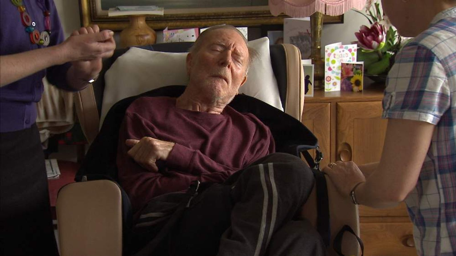 Dementia sufferer John Fenn