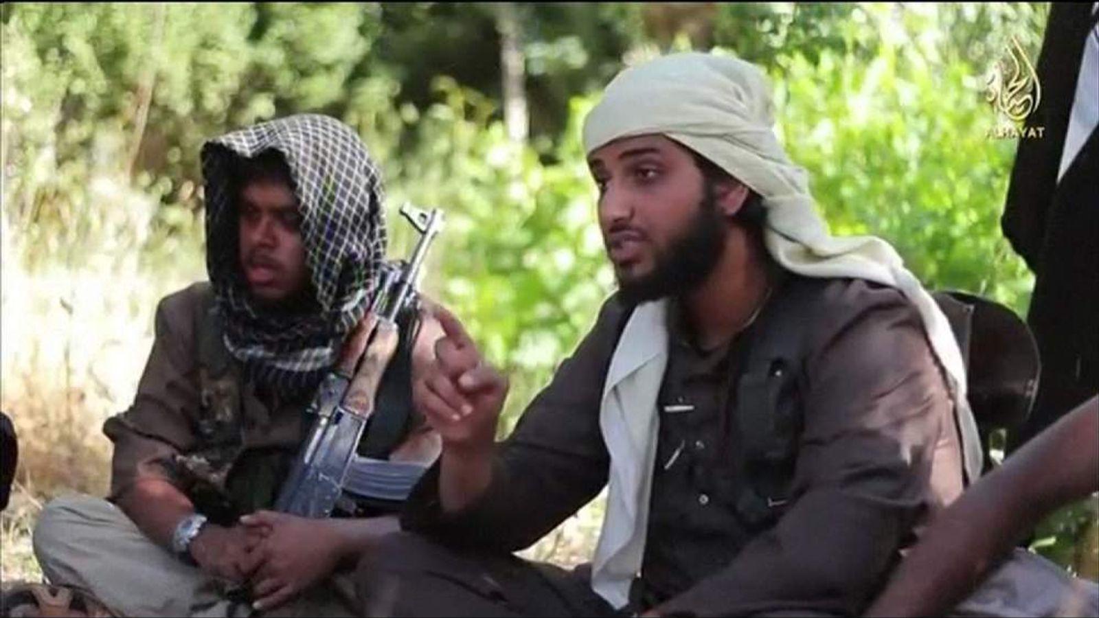 'British jihadists' video.