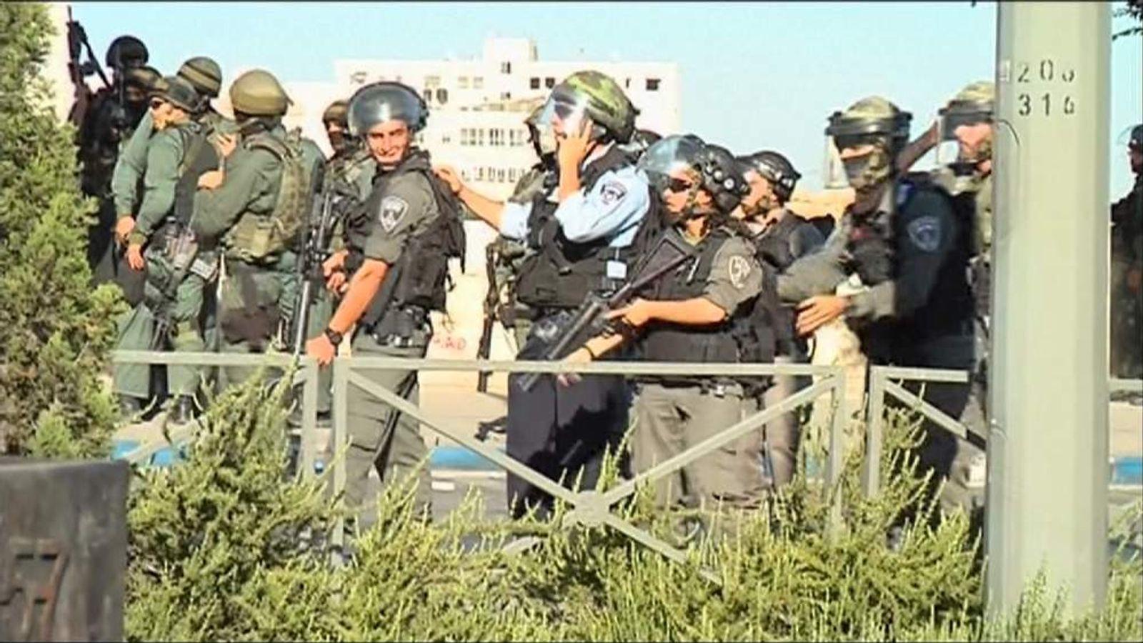 Clashes In Refugee Camp Near East Jerusalem