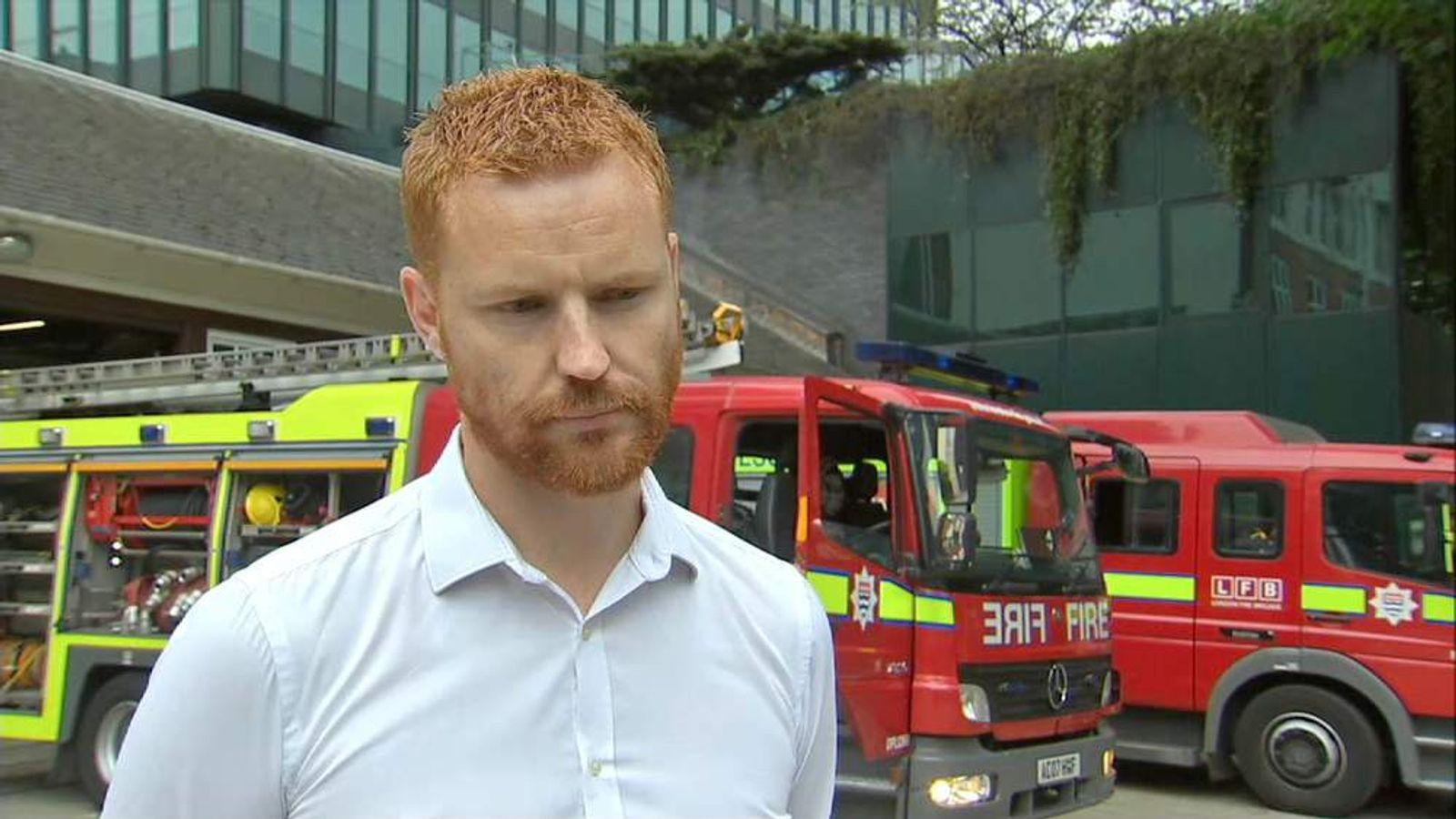 LONDON SECRETARY, FIRE BRIGADES UNION PAUL EMBERY