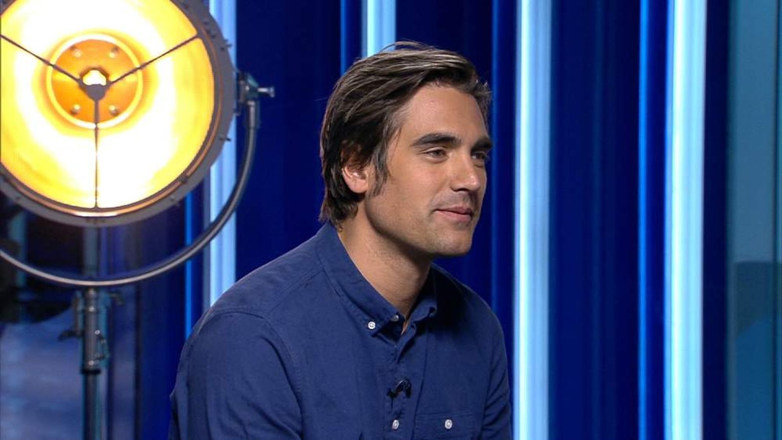 Former Busted star Charlie Simpson