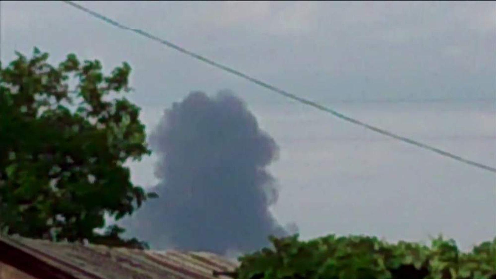 Malaysian Passenger Plane Crashes In Ukraine