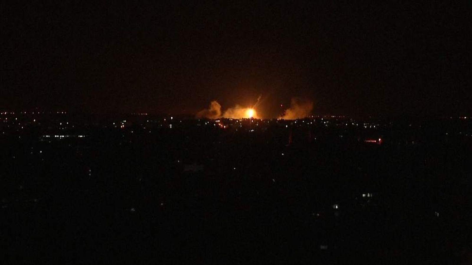 Israel shelling of Gaza