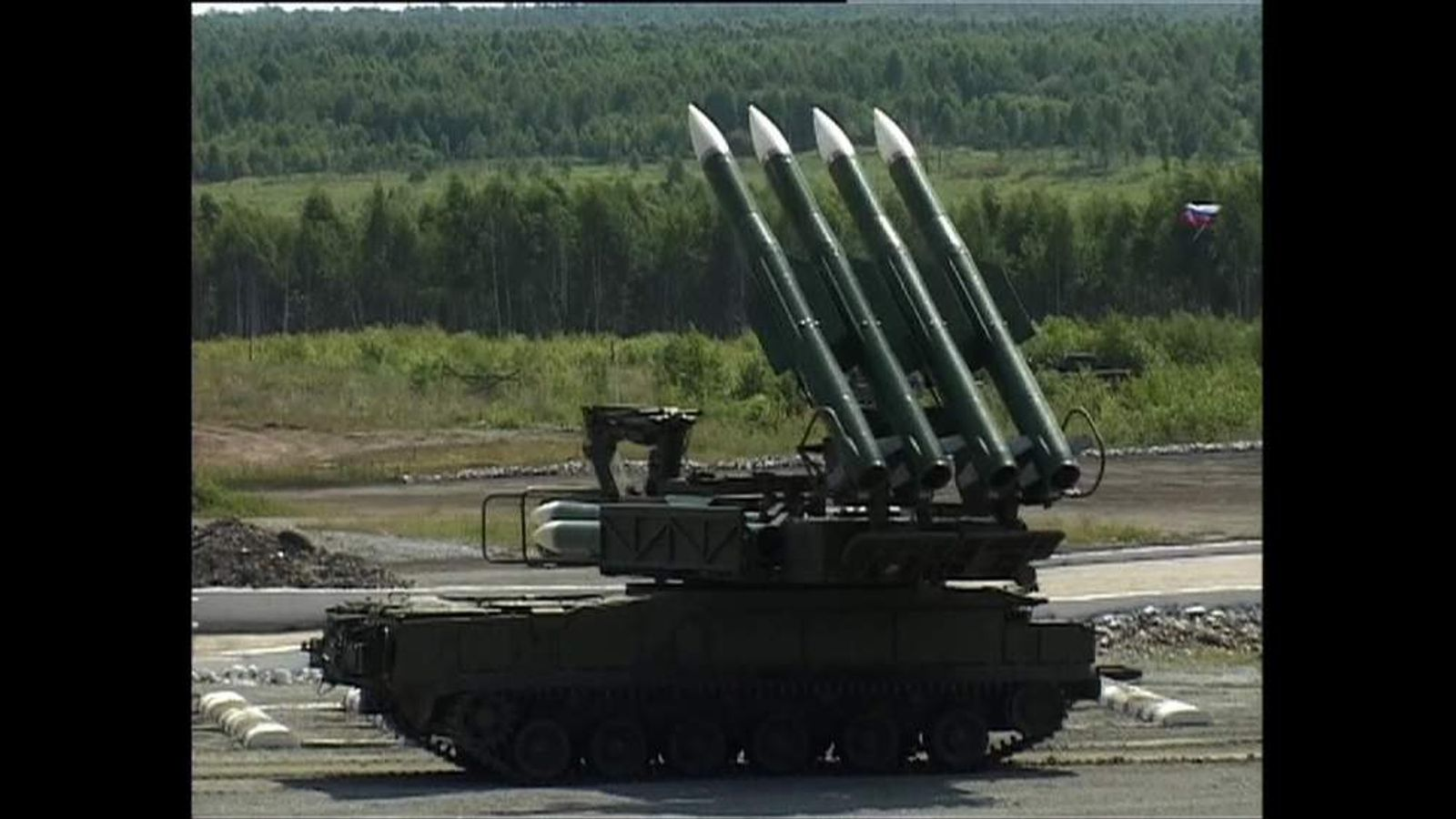 Russian BUK Missile systems