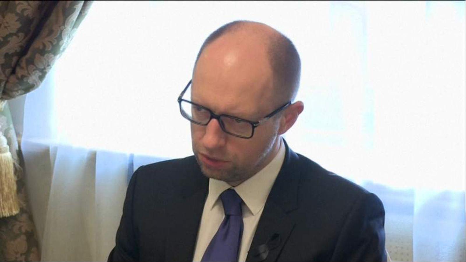 Arseniy Yatsenyuk.