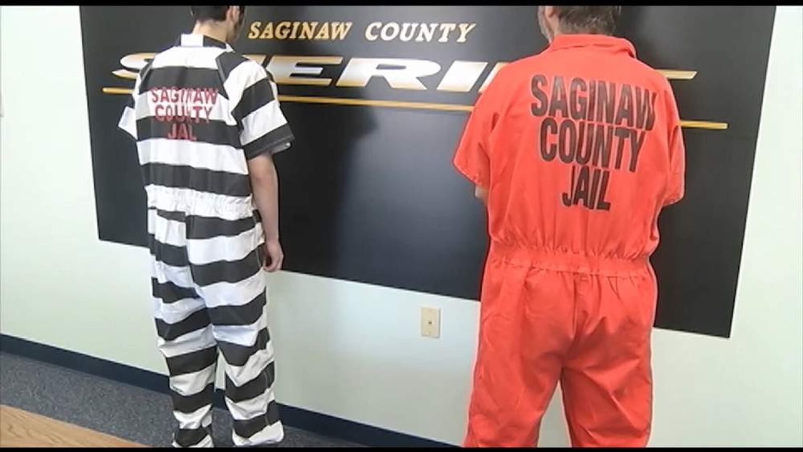 Saginaw County Prison jumpsuits
