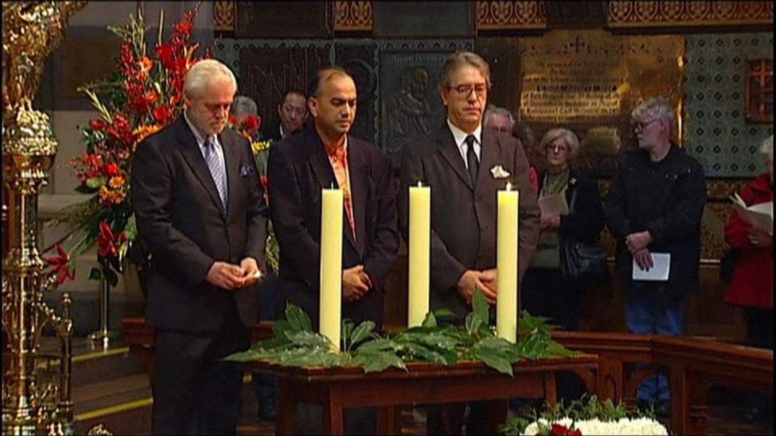 Australia church service for MH17 victims