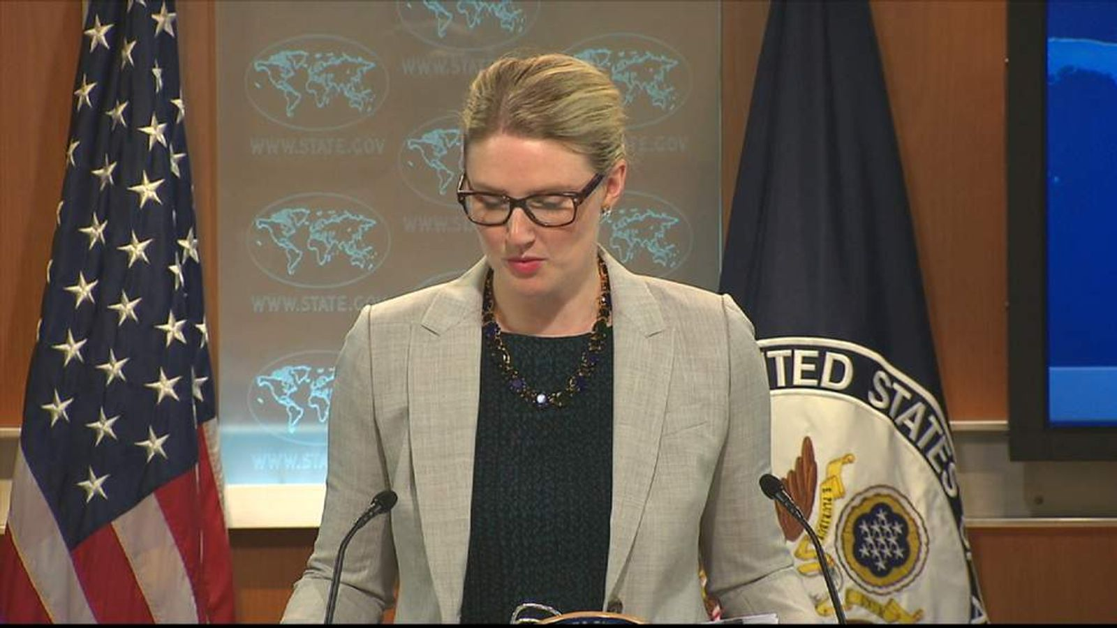 US State Department Marie Harf