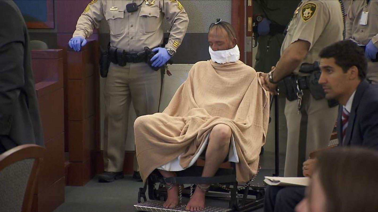 Vegas Casino Heist Suspect Restrained In Court
