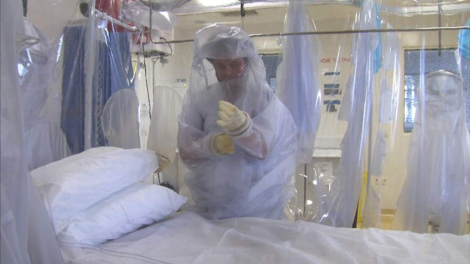 Hospitals prepare for an Ebola outbreak